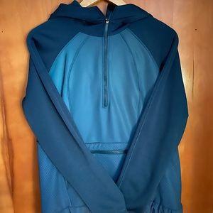 Lululemon hooded reflective half zip